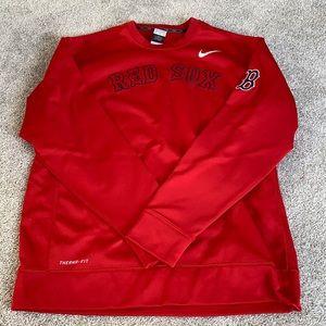 Nike Red Sox Crew Neck Sweatshirt